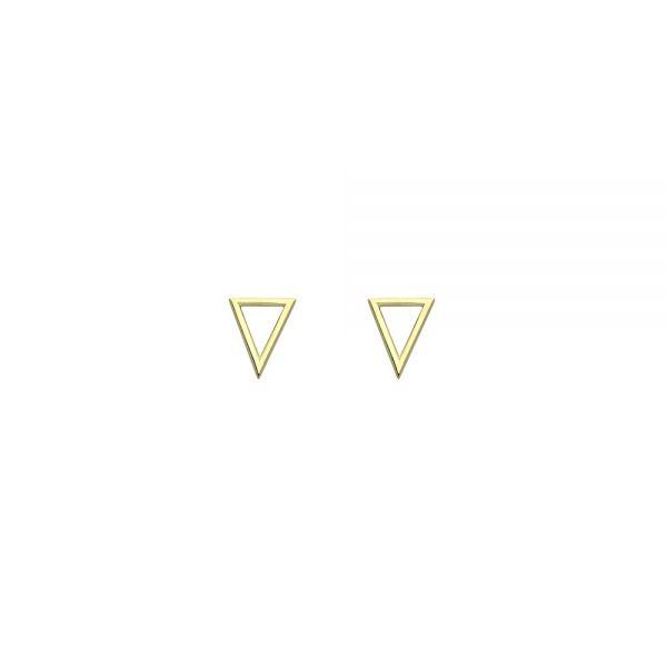 Pendientes Triangle Oro