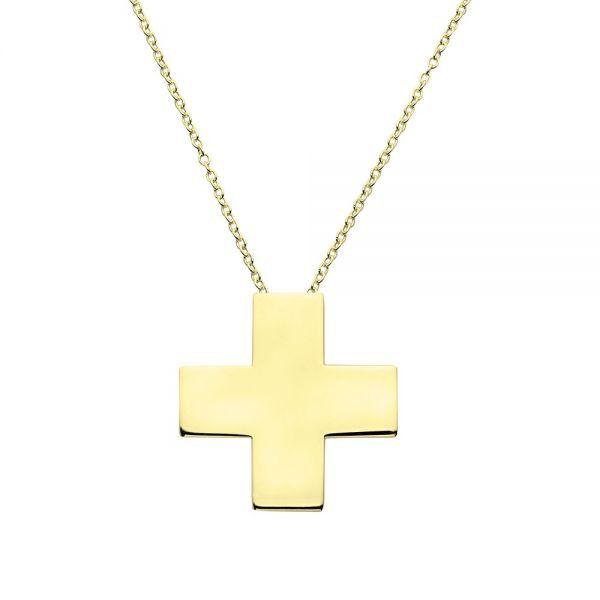 Collar Cross Oro