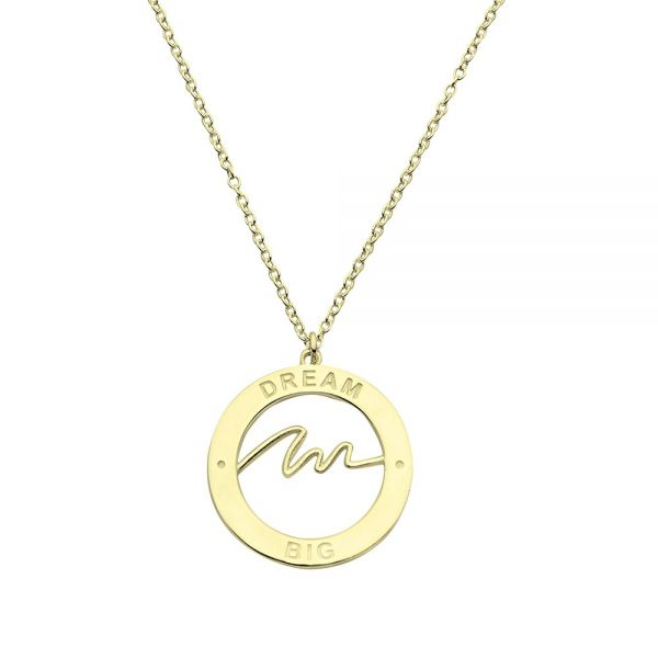 Collar Dream Big Oro